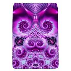 Purple Ecstasy Fractal Removable Flap Cover (l) by KirstenStar