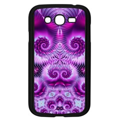 Purple Ecstasy Fractal Samsung Galaxy Grand Duos I9082 Case (black) by KirstenStar