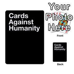 Spasmicpuppy Cards Against Humanity Black Deck By Spasmicpuppy   Playing Cards 54 Designs   Wxwa7ywdoe22   Www Artscow Com Back