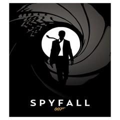 Skyfall 2 By Liron Levy   Drawstring Pouch (medium)   J46eeol7gyhy   Www Artscow Com Front
