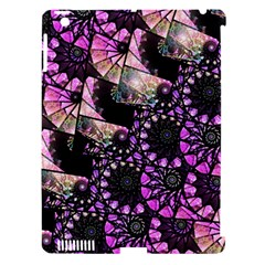 Hippy Fractal Spiral Stacks Apple Ipad 3/4 Hardshell Case (compatible With Smart Cover) by KirstenStar