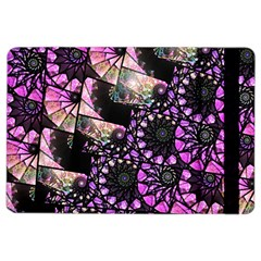 Hippy Fractal Spiral Stacks Apple Ipad Air 2 Flip Case by KirstenStar