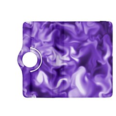 Lavender Smoke Swirls Kindle Fire Hdx 8 9  Flip 360 Case by KirstenStar