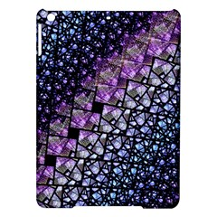 Dusk Blue And Purple Fractal Apple Ipad Air Hardshell Case by KirstenStar