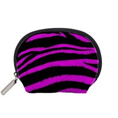 Pink Zebra Accessory Pouch (Small)