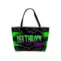 Deathrock Diva Large Shoulder Bag by ArtistRoseanneJones