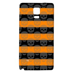 Deathrock Stripes Samsung Note 4 Hardshell Back Case by ArtistRoseanneJones