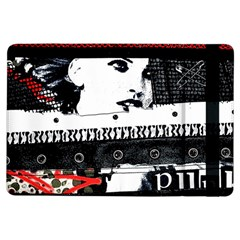 Punk Chick Apple Ipad Air Flip Case