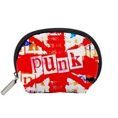 Punk Union Jack Accessory Pouch (small) by ArtistRoseanneJones