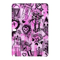 Pink Scene Kid Sketches Samsung Galaxy Tab Pro 10 1 Hardshell Case