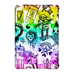 Rainbow Scene Kid Sketches Apple Ipad Mini Hardshell Case (compatible With Smart Cover) by ArtistRoseanneJones