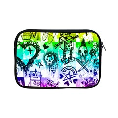 Rainbow Scene Kid Sketches Apple Ipad Mini Zippered Sleeve by ArtistRoseanneJones