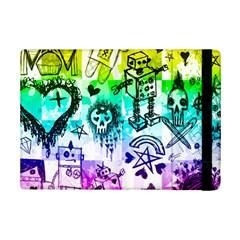 Rainbow Scene Kid Sketches Apple Ipad Mini 2 Flip Case by ArtistRoseanneJones