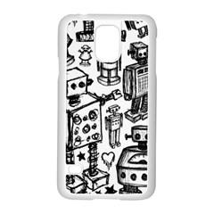 Robot Crowd Samsung Galaxy S5 Case (white)