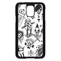 Scene Kid Sketches Samsung Galaxy S5 Case (black) by ArtistRoseanneJones