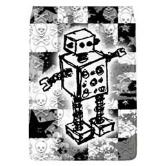 Sketched Robot Removable Flap Cover (l) by ArtistRoseanneJones