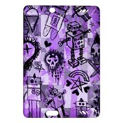 Purple Scene Kid Sketches Kindle Fire Hd (2013) Hardshell Case by ArtistRoseanneJones