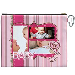 Baby By Baby   Canvas Cosmetic Bag (xxxl)   7ti6ffbvs85t   Www Artscow Com Back