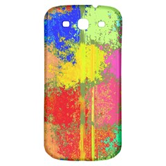 Colorful Paint Spots Samsung Galaxy S3 S Iii Classic Hardshell Back Case by LalyLauraFLM