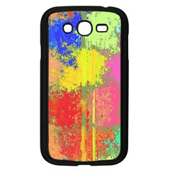 Colorful Paint Spots Samsung Galaxy Grand Duos I9082 Case (black) by LalyLauraFLM