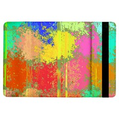 Colorful Paint Spots	apple Ipad Air Flip Case by LalyLauraFLM