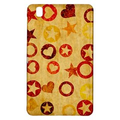 Shapes on vintage paper	Samsung Galaxy Tab Pro 8.4 Hardshell Case