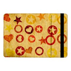 Shapes on vintage paper	Samsung Galaxy Tab Pro 10.1  Flip Case
