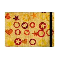 Shapes On Vintage Paperapple Ipad Mini 2 Flip Case by LalyLauraFLM