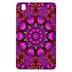 Pink Fractal Kaleidoscope  Samsung Galaxy Tab Pro 8 4 Hardshell Case by KirstenStar