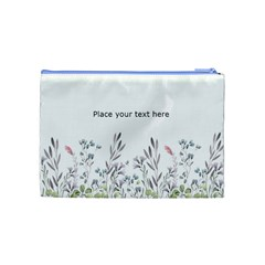 Watercolor Cosmetic Bag (m) By Joy   Cosmetic Bag (medium)   Pp672xymld3a   Www Artscow Com Back