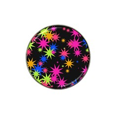 Colorful Stars Pattern Hat Clip Ball Marker by LalyLauraFLM