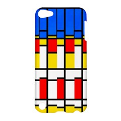 Colorful Rectangles Pattern Apple Ipod Touch 5 Hardshell Case by LalyLauraFLM