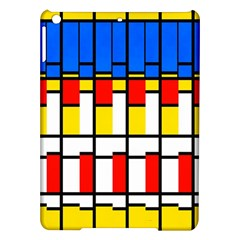Colorful rectangles pattern Apple iPad Air Hardshell Case by LalyLauraFLM