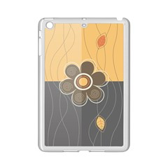 Floral Design Apple Ipad Mini 2 Case (white) by EveStock