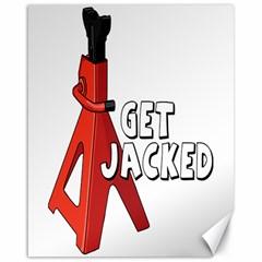 Get Jacked Canvas 16  X 20  (unframed) by hoddynoddy