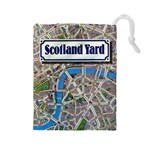 Scotland Yard Tile Drawing Bag LARGE - Drawstring Pouch (Large)