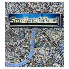 Scotland Yard Tile Drawing Bag Medium By Curtisc   Drawstring Pouch (medium)   On6tpa5idy0v   Www Artscow Com Back