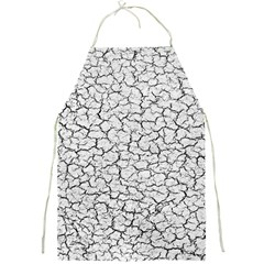 Cracked Abstract Print Texture Apron by dflcprintsclothing