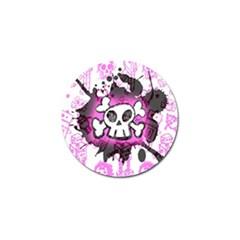 Cartoon Skull  Golf Ball Marker 10 Pack by ArtistRoseanneJones