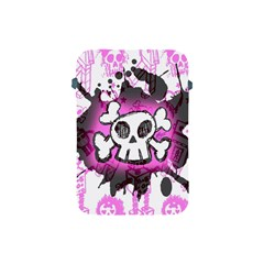 Cartoon Skull  Apple Ipad Mini Protective Sleeve by ArtistRoseanneJones