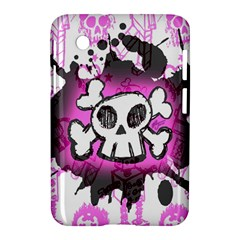 Cartoon Skull  Samsung Galaxy Tab 2 (7 ) P3100 Hardshell Case  by ArtistRoseanneJones