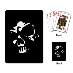 Gothic Skull Playing Cards Single Design by ArtistRoseanneJones