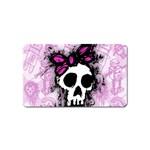 Sketched Skull Princess Magnet (Name Card)