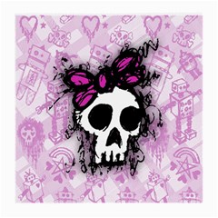 Sketched Skull Princess Glasses Cloth (medium, Two Sided) by ArtistRoseanneJones