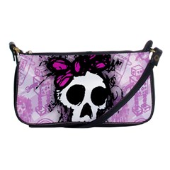 Sketched Skull Princess Evening Bag by ArtistRoseanneJones