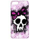 Sketched Skull Princess Apple iPhone 5 Classic Hardshell Case