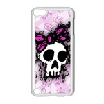 Sketched Skull Princess Apple iPod Touch 5 Case (White)