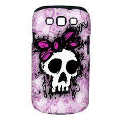 Sketched Skull Princess Samsung Galaxy S Iii Classic Hardshell Case (pc+silicone) by ArtistRoseanneJones