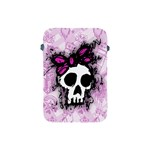 Sketched Skull Princess Apple iPad Mini Protective Sleeve