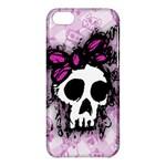 Sketched Skull Princess Apple iPhone 5C Hardshell Case